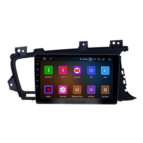 Android 10.0 9 inch GPS Navigation Radio for 2011-2014 Kia K5 RHD with HD Touchscreen Carplay Bluetooth support Digital TV