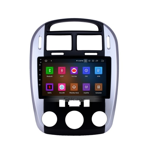 Android 10.0 9 inch GPS Navigation Radio for 2012-2016 Kia Cerato with HD Touchscreen Carplay Bluetooth WIFI USB AUX support Mirror Link OBD2 SWC