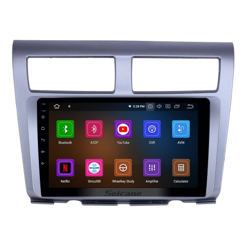 Android 10.0 9 inch GPS Navigation Radio for 2012-2014 Proton Myvi with HD Touchscreen Carplay Bluetooth Mirror Link support Digital TV
