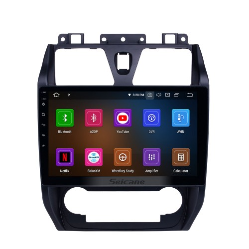 10.1 inch Android 10.0 GPS Navigation Radio for 2012-2013 Geely Emgrand EC7 with HD Touchscreen Carplay AUX Bluetooth support 1080P