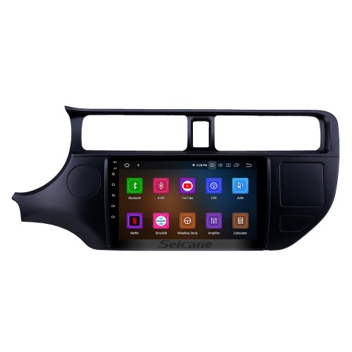 9 inch Android 10.0 Radio for 2012 Kia Rio LHD with GPS Navigation HD Touchscreen Bluetooth Carplay Audio System support Steering Wheel Control