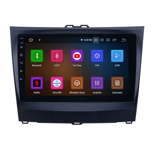 OEM 9 inch Android 10.0 for 2014-2015 BYD L3 Bluetooth HD Touchscreen GPS Navigation Radio Carplay support 1080P TPMS