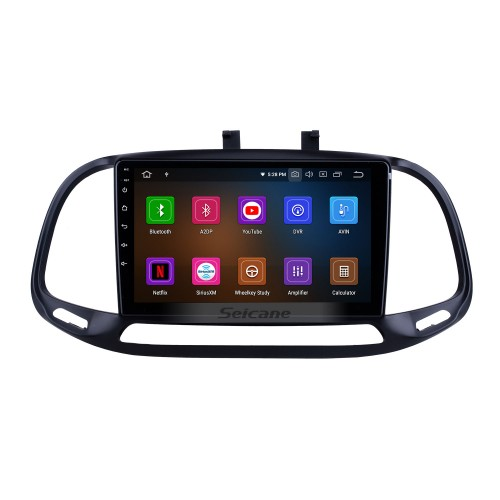 9 inch For 2015 2016 2017 2018 Fiat Dobe 10 Radio Android 10.0 GPS Navigation Bluetooth HD Touchscreen Carplay support Digital TV