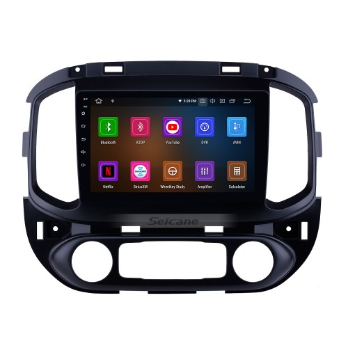 HD Touchscreen 2015-2017 chevy Chevrolet Colorado Android 10.0 9 inch GPS Navigation Radio Bluetooth WIFI Carplay support OBD2