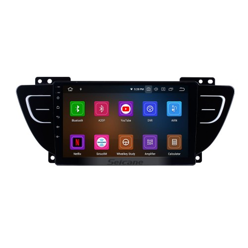 HD Touchscreen for 2016 2017 2018 Geely Boyue Radio Android 10.0 9 inch GPS Navigation Bluetooth WIFI Carplay support DVR DAB+