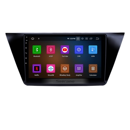10.1 inch Android 10.0 Radio for 2016-2018 VW Volkswagen Touran Bluetooth HD Touchscreen GPS Navigation Carplay USB support OBD2 Backup camera
