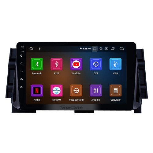 10.1 inch Android 10.0 Radio for 2017 Nissan Micra Bluetooth HD Touchscreen GPS Navigation Carplay USB support TPMS OBD2 Steering Wheel Control