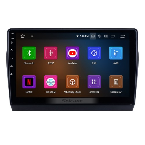 HD Touchscreen 2017 Toyota Yaris L Android 10.0 9 inch GPS Navigation Radio Bluetooth USB Carplay WIFI AUX support SWC OBD2 Steering Wheel Control