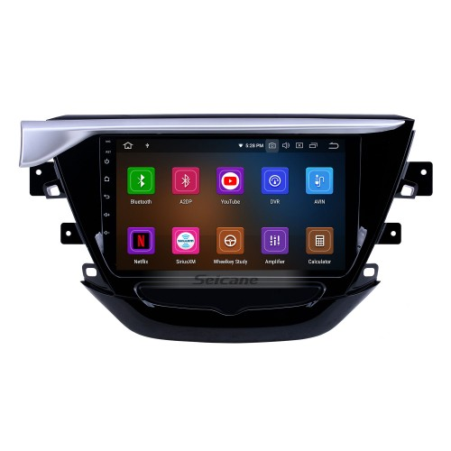 Android 10.0 9 inch GPS Navigation Radio for 2018-2019 Buick Excelle with HD Touchscreen Carplay Bluetooth support Digital TV
