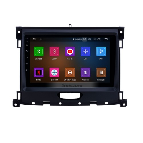 OEM 9 inch Android 10.0 Radio for 2018 Ford Ranger Bluetooth HD Touchscreen GPS Navigation Music AUX Carplay support TPMS