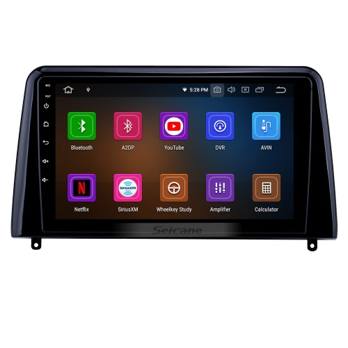 Android 10.0 9 inch GPS Navigation Radio for 2018 Kia Forte with HD Touchscreen Carplay AUX WIFI USB Bluetooth support DVR TPMS DAB+