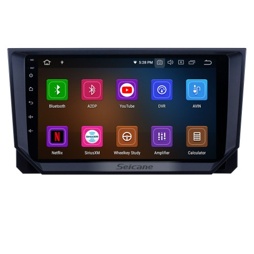 HD Touchscreen 2018 Seat Ibiza Android 10.0 9 inch GPS Navigation Radio Bluetooth USB WIFI Carplay support DAB+ TPMS OBD2