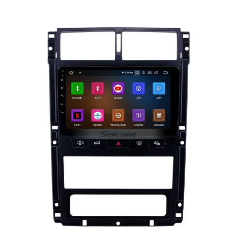 HD Touchscreen Peugeot 405 Android 10.0 9 inch GPS Navigation Radio Bluetooth USB WIFI Carplay support DAB+ TPMS Rearview camera