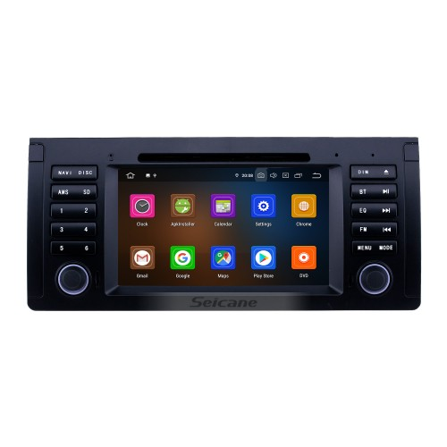 7 inch Android 10.0 Radio for 1996-2003 BMW X5 E53 Bluetooth Wifi HD Touchscreen GPS Navigation Carplay USB support TPMS Mirror Link