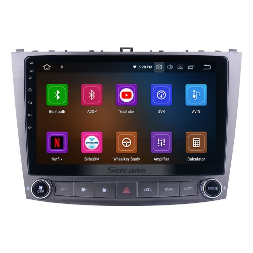 Android 10.0 For Lexus IS250 Radio 10.1 inch GPS Navigation System with Bluetooth HD Touchscreen Carplay support SWC