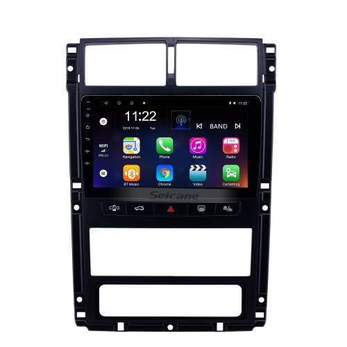 OEM 9 inch Android 10.0 Radio for Peugeot 405 Bluetooth WIFI HD Touchscreen GPS Navigation support Carplay Rear camera