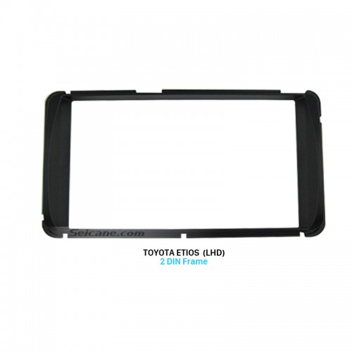 173*98mm Double Din Toyota Etios LHD Car Radio Fascia Audio Player Stereo Install Frame Panel Plate
