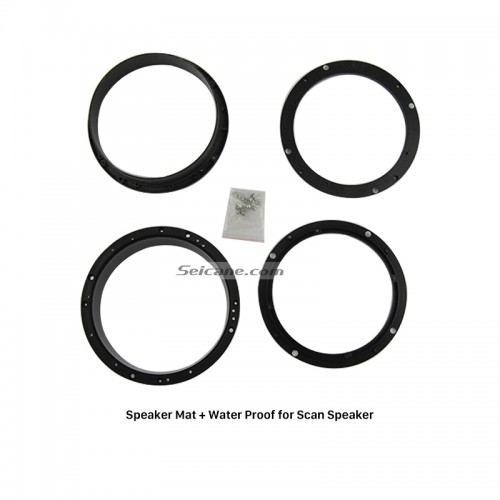 Auto Car Universal Water Proof Cover Ring Speaker Mat for Scan Speaker