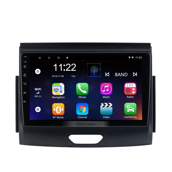 9 inch Android 10.0 For 2018 Ford RANGER Radio GPS Navigation System With HD Touchscreen Bluetooth support Carplay OBD2
