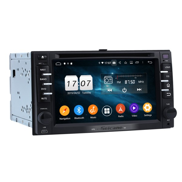 Android 9.0 DVD Player Radio Car Stereo for 2005 2006 2007 2008 2009 Kia Cerato GPS Navigation system Support Bluetooth Aux USB SD WIFI DVR OBD2 Rearview Camera Mirror Link