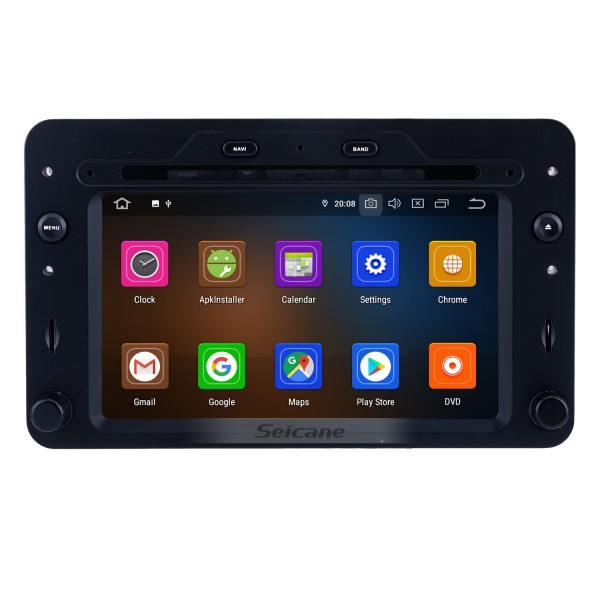 Android 10.0 for 2005 onwards Alfa Romeo 159 Radio 7 inch GPS Navigation System with HD Touchscreen Carplay Bluetooth support TPMS Rear camera