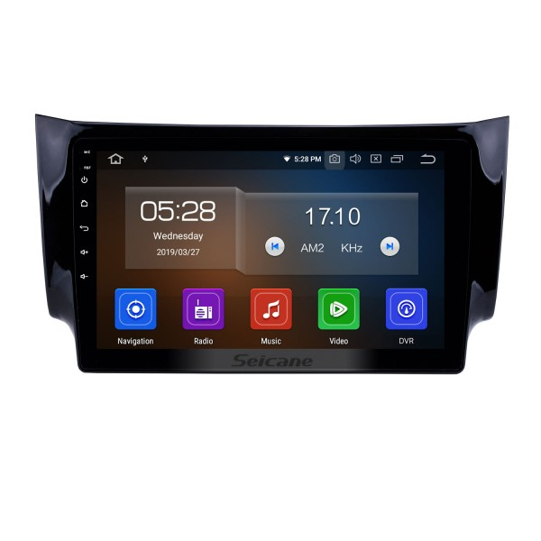 10.1 inch 2012 2013 2014 2015 2016 NISSAN SYLPHY HD TouchScreen GPS Navigation System Head Unit Android 10.0 FM/AM/RDS radio Support TPM OBD II DVR USB Bluetooth