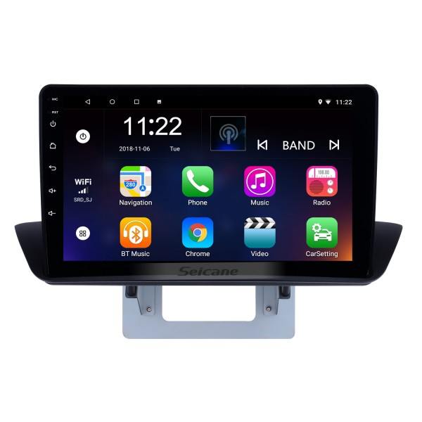 9 inch OEM GPS Navigation Android 8.1 Stereo for 2012-2018 Mazda BT-50 Overseas version Touchscreen Radio Bluetooth Link WIFI AUX USB Steering Wheel Control support OBD 3G DVR