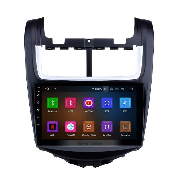 Seicane S09107 Android 4.4.4 GPS Radio for 2011 2012 2013 Chevy Chevrolet Aveo with HD 1024*600 Touch Screen Quad-core CPU CANBUS OBD2 Bluetooth Navigation system Mirror link DVD Player DVR Backup Camera TV Video WIFI USB SD