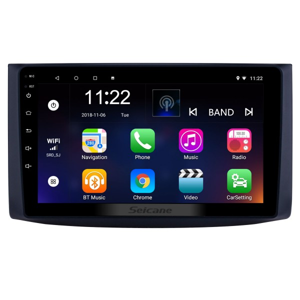 9 inch Android 8.1 GPS Navigation Radio for 2006-2019 chevy Chevrolet Aveo/Lova/Captiva/Epica/RAVON Nexia R3/Gentra Bluetooth HD Touchscreen support Carplay DVR