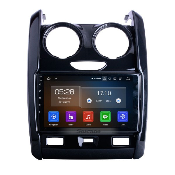 Android 10.0 For 2015-2018 2019 2020 Renault Duster Radio 9 inch GPS Navigation System Bluetooth AUX HD Touchscreen Carplay support SWC