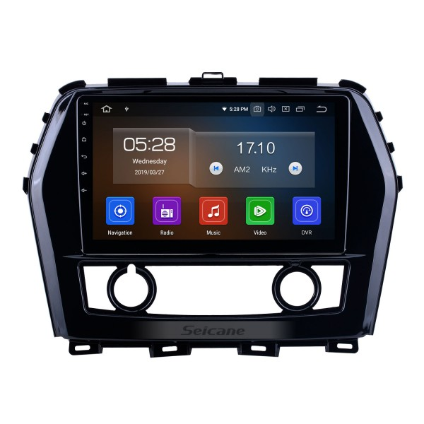 Android 10.0 For 2016 Nissan Teana/Maxima Radio 10.1 inch GPS Navigation System Bluetooth HD Touchscreen Carplay support DSP