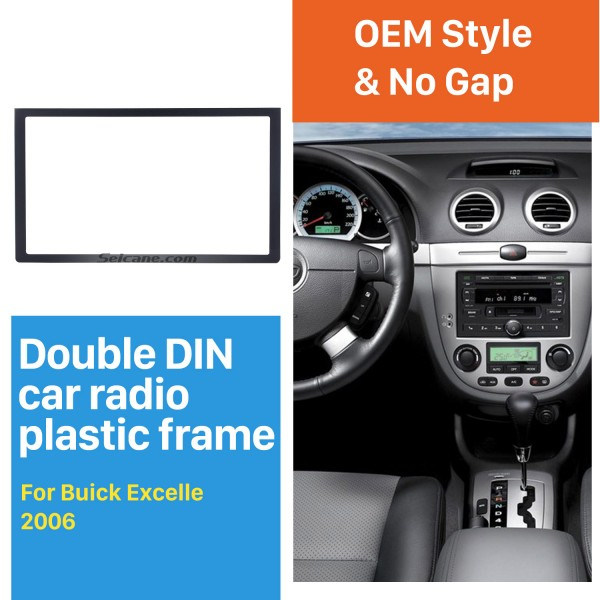 173*98mm Double Din 2006 Buick Excelle Car Radio Fascia Auto Stereo Interface Panel DVD Frame Audio Player