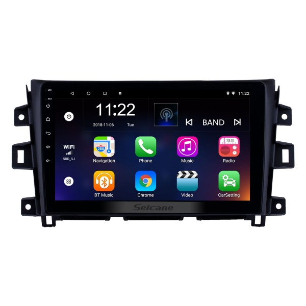 2011-2016 Nissan Navara Android 8.1 10.1 inch Radio GPS Navigation Bluetooth Touchscreen Stereo with Music AUX WIFI support DAB+ OBD2 DVR Carplay