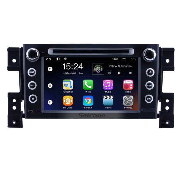 OEM 7 inch Android 9.0 for 2006 2007 2008 2009 2010 Suzuki Grand Vitara Radio Bluetooth HD Touchscreen GPS Navigation System support Carplay