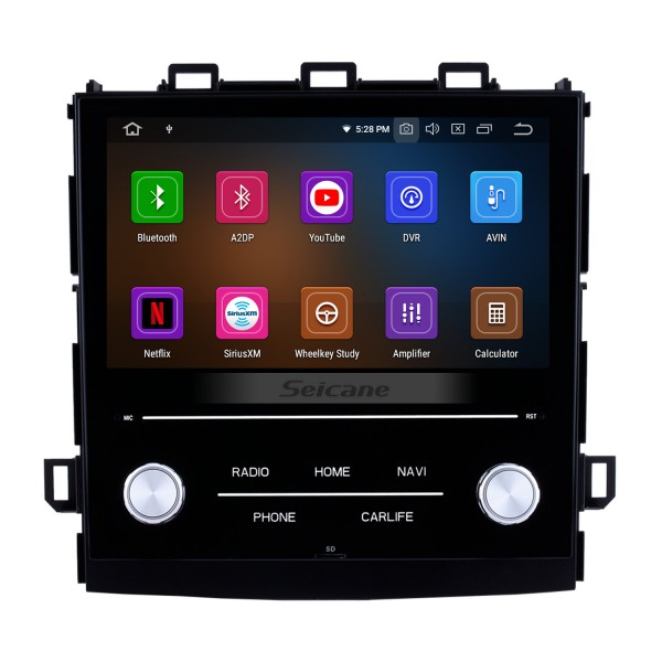 8 inch Android 10.0 HD Touch Screen Car Stereo Radio Head Unit for 2018 Subaru XV Bluetooth DVD player DVR Rearview camera TV Video WIFI Steering Wheel Control USB Mirror link OBD2