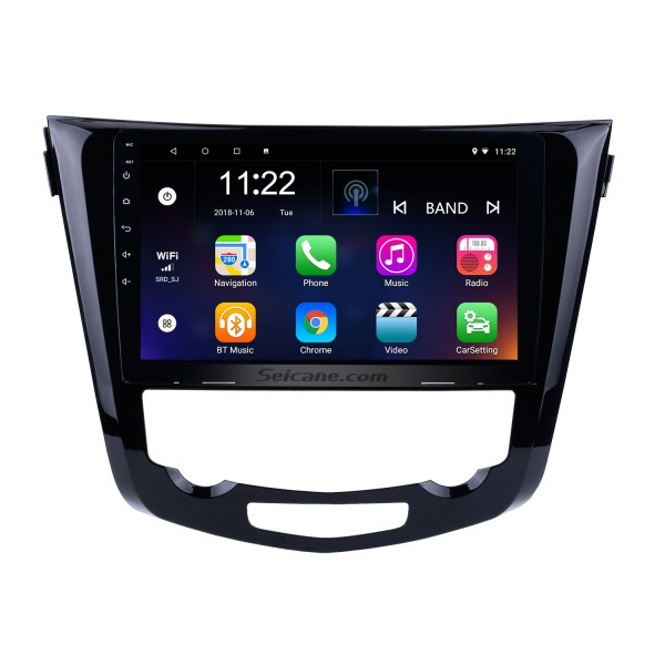 10.1 inch Android 10.0 2014 Nissan QashQai X-Trail Radio Bluetooth Aftermarket OEM GPS System 3G WiFi TV Mirror Link USB SD Auto A/V Backup Camera