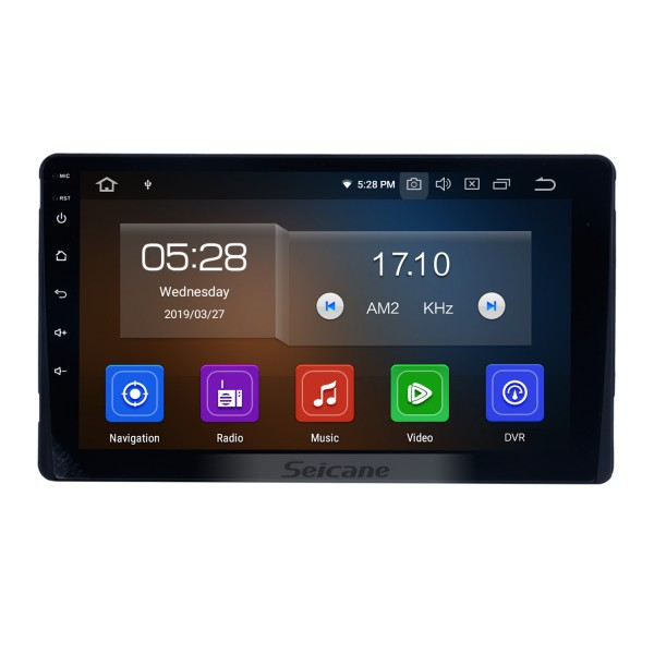Aftermarket Android 9.0 Radio GPS Navigation system for 2015-2018 Toyota Sienna with Capacitive Touch Screen TPMS DVR OBDII Control USB Bluetooth 3G WiFi Video AUX Rear camera