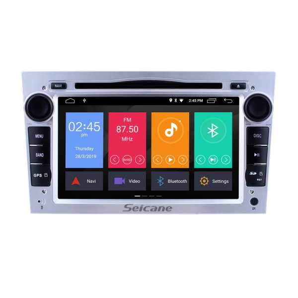 2005-2011 Opel Zafira Android 9.0 7 inch Multi-touch Capacitve DVD Player GPS Navi Radio Bluetooth WIFI music Steering Wheel Control