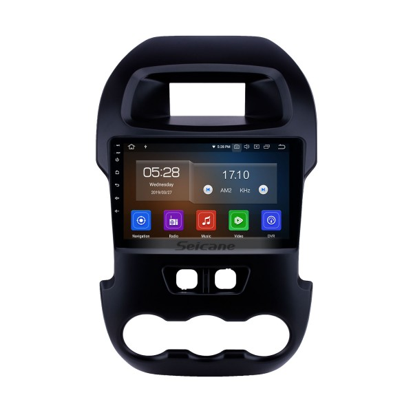 Android 10.0 9 inch 2012 Ford Ranger with GPS Navigation Radio HD Touchscreen USB AUX Music Bluetooth Carplay support Steering Wheel Control