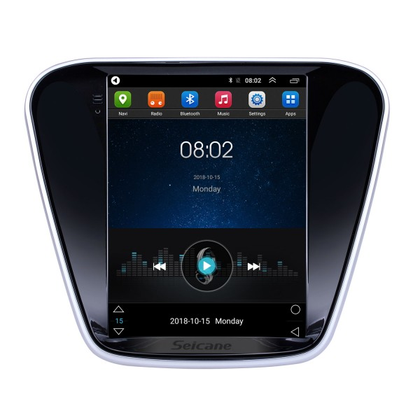 9.7 inch Android 9.1 2016 Chevy Chevrolet Cavalier GPS Navigation Radio with HD Touchscreen Bluetooth support Carplay Mirror Link