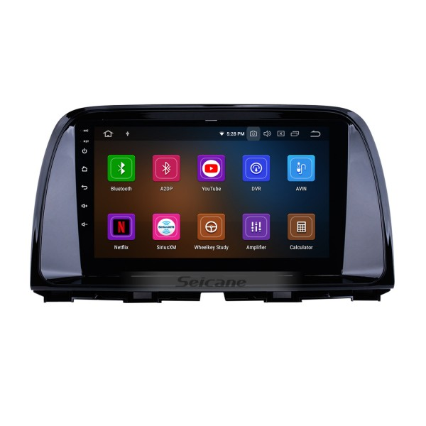 2012-2015 Mazda CX-5 Full 1024*600 Touchscreen Android 8.0 GPS Navigation System with WIFI 4G Bluetooth Music USB OBD2 AUX Radio Backup Camera Steering Wheel Control
