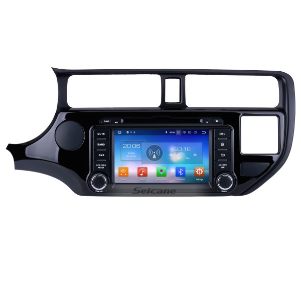 8 inch Android 8.0 Radio DVD player GPS navigation system for 2011 2012 KIA K3 with Bluetooth HD 1024*600 touch screen OBD2 DVR Rearview camera TV 1080P Video USB SD 3G WIFI Steering Wheel Control Mirror link