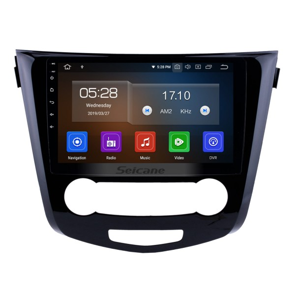 10.1 inch 2014 2015 2016 Nissan Qashqai Android 9.0 Radio GPS Navigation System with Bluetooth TPMS USB AUX 3G/4G WIFI Steering Wheel Control