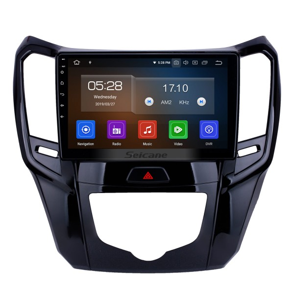 10.1 inch Android 9.0 GPS Navigation Radio for 2014 2015 Great Wall M4 Bluetooth Wifi HD Touchscreen Carplay support DAB+ Steering Wheel Control