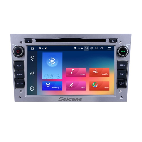 OEM Android 9.0 2005-2009 Opel Vectra GPS Radio Replacement with HD 1024*600 Touch Screen Bluetooth Music MP3 3G WiFi DVD Player 1080P AUX Steering Wheel Control Backup Camera