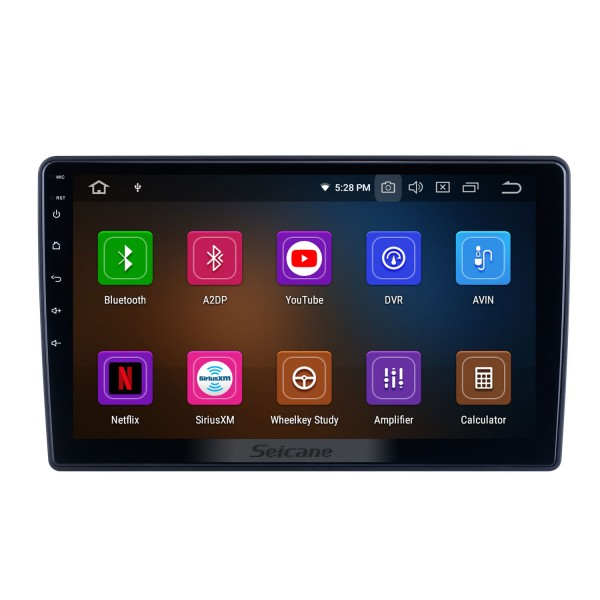 10.1 inch Android 10.0 For 2012 Honda Brio Radio GPS Navigation System with HD Touchscreen Bluetooth Carplay support OBD2