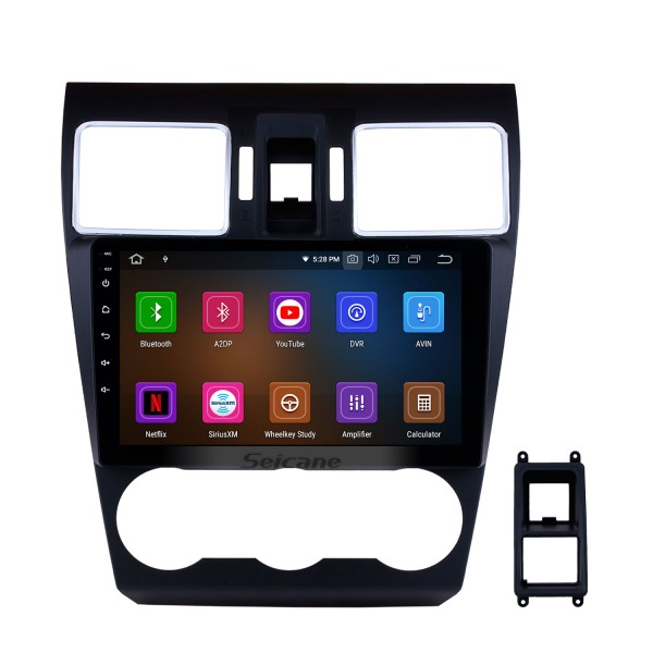 Android 11.0 9 inch for 2014 2015 2016 Subaru WRX forester Radio GPS Navigation System with Bluetooth HD Touch Screen Carplay support DAB+ TPMS