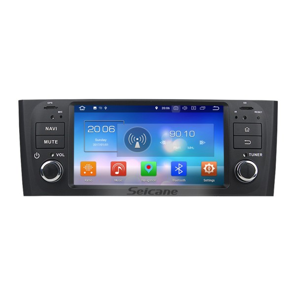 2007-2013 FLAT LINEA Android 8.0 Radio DVD Player GPS Navigation System DVR DAB+ TPMS Backup Camera Mirror Link