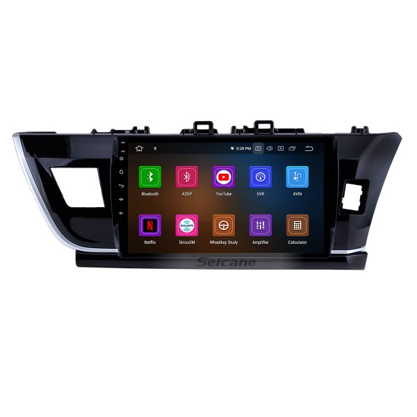 10.1 inch Android 9.0 HD touchscreen Radio GPS Navigation System for 2014 Toyota Corolla RHD Bluetooth Rearview camera TV 1080P 4G WIFI Steering Wheel Control Mirror link