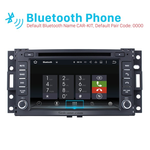 Android 8.0 Radio DVD GPS Navigation system 2006-2009 Hummer H3 with HD Touch Screen Bluetooth WiFi TV Backup Camera Steering Wheel Control 1080P